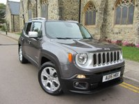 2016 JEEP RENEGADE 1.4 LIMITED 5d 138 BHP £12495.00