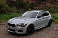 2013 BMW 1 SERIES 2.0 116D M SPORT 5d AUTO 114 BHP £10995.00