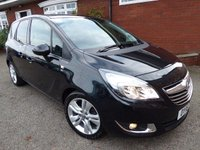 2016 VAUXHALL MERIVA 1.4 SE 5d 118 BHP Super Spec With Glass Panoramic Sunroof £8250.00