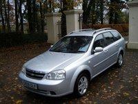 2009 CHEVROLET LACETTI 1.6 SX SW 5d 108 BHP £1495.00