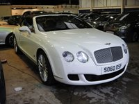 USED 2010 60 BENTLEY CONTINENTAL 6.0 GTC SERIES 51 2d AUTO 552 BHP ANY PART EXCHANGE WELCOME, COUNTRY WIDE DELIVERY ARRANGED, HUGE SPEC