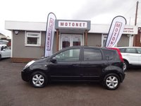 2008 NISSAN NOTE 1.6 TEKNA 5DR AUTOMATIC 109 BHP £2380.00