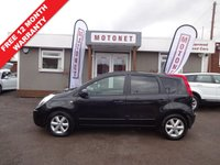 USED 2008 08 NISSAN NOTE 1.6 TEKNA 5DR AUTOMATIC 109 BHP ++++BUY NOW PAY NEXT JANUARY 2019++