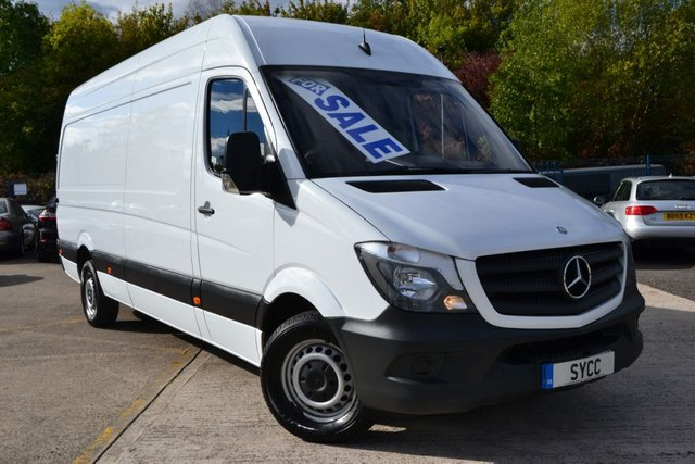 USED 2014 14 MERCEDES-BENZ SPRINTER 2.1 313 CDI LWB 5d 129 BHP HIGH ROOF 6 MONTHS WARRANTY ~ 6 MONTHS BREAKDOWN COVER ~ 12 MONTHS MOT