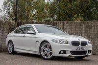 2015 BMW 5 SERIES 2.0 525D M SPORT 4d 215 BHP £19000.00