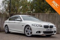USED 2015 15 BMW 5 SERIES 2.0 525D M SPORT 4d 215 BHP £0 DEPOSIT BUY NOW PAY LATER - FULL NAVIGATION