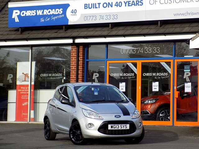 Used   Ford Ka   Grand Prix Ii Dr Sporty Looks And Only