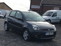 USED 2008 08 FORD FIESTA 1.4 ZETEC AUTO 5DR AUTOMATIC, FULL SERVICE HISTORY, RECENTLY SERVICED