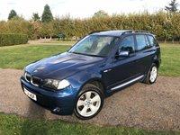 2004 BMW X3 2.5 SPORT 5d AUTO 190 BHP Sat Nav Pan Roof Leather FSH £4495.00