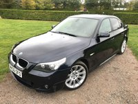 2006 BMW 5 SERIES 2.0 520D M SPORT 4d 161 BHP Full Service History Sat Nav Leather £4695.00