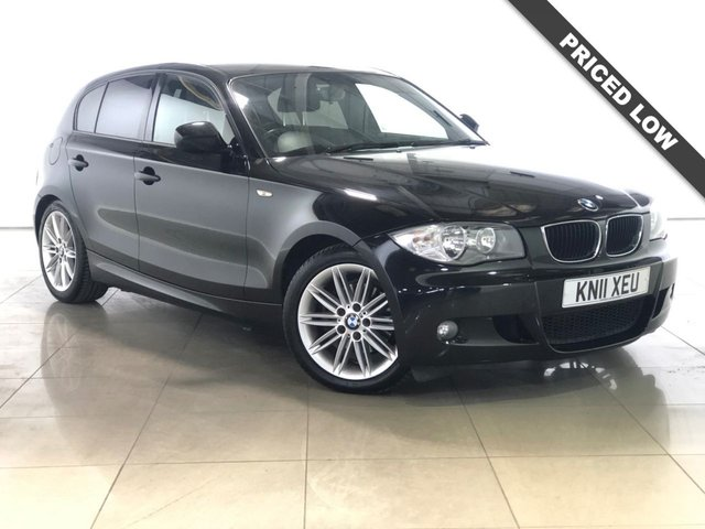 View our 2011 11 BMW 1 SERIES 2.0 118D M SPORT 5d 141 BHP