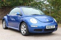 2006 VOLKSWAGEN BEETLE 1.6 LUNA CONVERTIBLE 8V 2d 101 BHP £2650.00