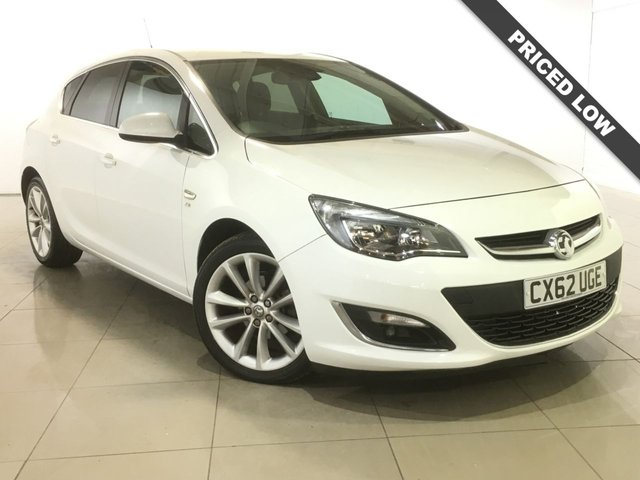 View our 2012 62 VAUXHALL ASTRA 1.6 SE 5d 113 BHP