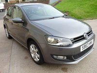 2013 VOLKSWAGEN POLO 1.2 MATCH EDITION 5d 59 BHP