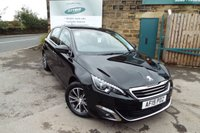 USED 2015 15 PEUGEOT 308 1.6 BLUE HDI S/S ALLURE 5d 120 BHP Touch Screen SAT NAV....ZERO Rate Road Tax