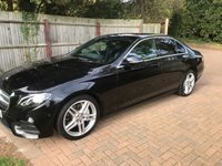 USED 2016 66 MERCEDES-BENZ E-CLASS 2.0 E 220 D AMG LINE 4d AUTOMATIC DIESEL BLACK BLACK WITH BLACK AMG LINE STUNNING !!!