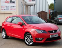 USED 2012 12 SEAT IBIZA 1.2 TSI FR 3d 104 BHP 2 OWNERS- FULL SERVICE HISTORY