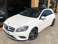 2015 MERCEDES-BENZ A CLASS 1.5 A180 CDI BLUEEFFICIENCY SPORT 5d 109 BHP £12995.00