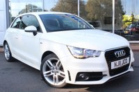 USED 2011 11 AUDI A1 1.4 TFSI S LINE 3d 122 BHP ***AUTOMATIC. LOW MILEAGE***