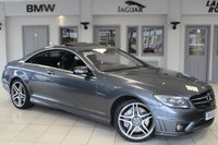 USED 2010 59 MERCEDES-BENZ CL 6.2 CL63 AMG 2d 525 BHP - full service history  FULL BLACK LEATHER SEATS + COMAND SATELLITE NAVIGATION + REVERSE CAMERA + XENON HEADLIGHTS + 20 INCH ALLOYS + HEATED FRONT SEATS + CRUISE CONTROL + DAB RADIO