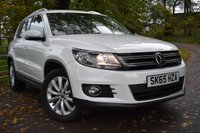 2015 VOLKSWAGEN TIGUAN 2.0 MATCH TDI BLUEMOTION TECHNOLOGY 5d 148 BHP £14750.00