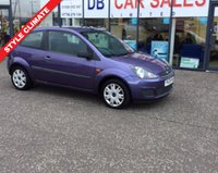 2008 FORD FIESTA 1.4 STYLE CLIMATE 16V 3d 68 BHP £1895.00