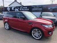 2015 LAND ROVER RANGE ROVER SPORT 3.0 SDV6 HSE DYNAMIC 5d AUTO 288 BHP £SOLD