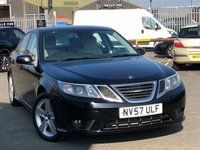 USED 2008 57 SAAB 9-3 1.9 DT VECTOR SPORT 4d 120 BHP *ONE OWNER, 10 SERVICE STAMPS*