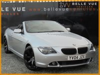 USED 2004 04 BMW 6 SERIES 4.4 645CI 2d AUTO 329 BHP *HUGE SPEC, STUNNING CAR*