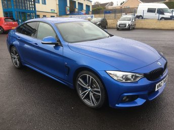 2016 BMW 4 SERIES GRAN COUPE 435 X DRIVE GRAND COUPE £23995.00