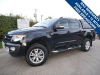 USED 2015 65 FORD RANGER 3.2 WILDTRAK 4X4 DCB TDCI 1d AUTO 197 BHP REAR COLOUR CODED LOAD COVER + ONE OWNER FROM NEW+ FULL SERVICE HISTORY