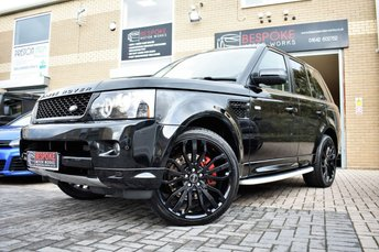 2013 LAND ROVER RANGE ROVER SPORT 3.0 SDV6 HSE BLACK AUTOMATIC £21995.00