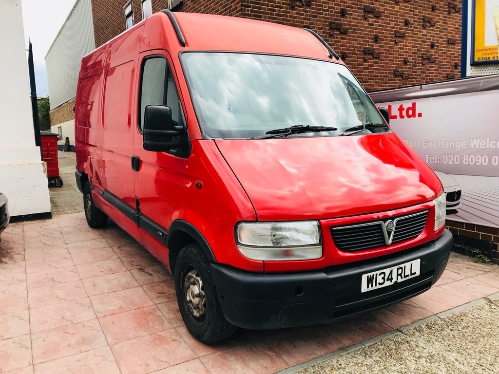 View our 2000 VAUXHALL MOVANO 2.5 D 3500 Panel Van Diesel Manual (MWB) (79 bhp)