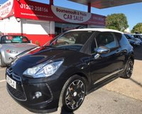 2012 CITROEN DS3 1.6 E-HDI AIRDREAM DSPORT PLUS *FREE TAX GROUP* £5495.00