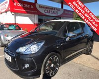 2012 CITROEN DS3 1.6 E-HDI AIRDREAM DSPORT PLUS *FREE TAX GROUP* £6295.00