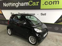 USED 2007 57 SMART FORTWO 1.0 PASSION 2d AUTO 70 BHP