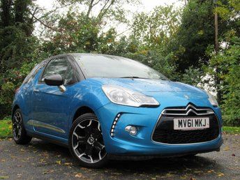 2011 CITROEN DS3 1.6 DSTYLE PLUS 3d  £4290.00