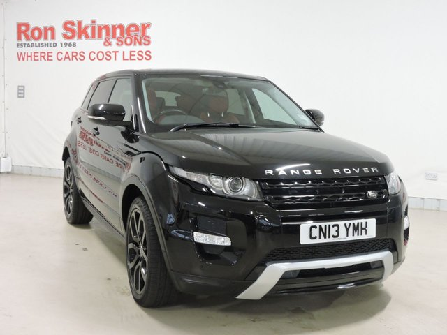 View our 2013 13 LAND ROVER RANGE ROVER EVOQUE 2.2 SD4 DYNAMIC 5d 190 BHP
