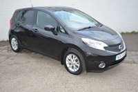 USED 2013 63 NISSAN NOTE 1.2 ACENTA 5d 80 BHP FREE SIX MONTH WARRANTY