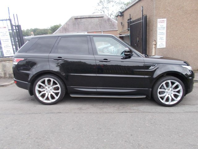 USED 2014 63 LAND ROVER RANGE ROVER SPORT 3.0 SDV6 HSE DYNAMIC ++LOW MILEAGE RANGE ROVER+12 MONTHS AA BREAKDOWN COVER++
