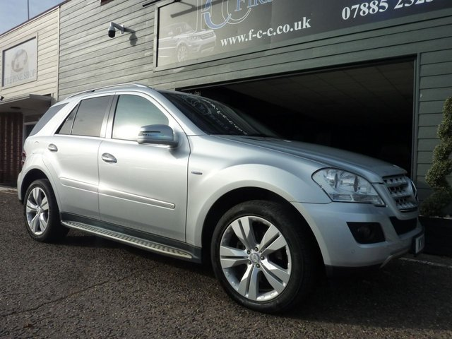 2011 11 MERCEDES-BENZ M CLASS 3.0 ML350 CDI BLUEEFFICIENCY SPORT 5d AUTO 231 BHP