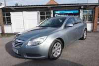 USED 2009 59 VAUXHALL INSIGNIA 2.0 SE CDTI 5d 160 BHP 7 STAMPS- 2 OWNERS 7 Service Stamps, 2 Owners, Half Leather Seats, A/Con