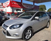 2011 FORD FOCUS 1.6 ZETEC 5d 124 BHP *ONLY 43,000 MILES* F/FORD S/HISTORY £6495.00