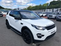 2016 LAND ROVER DISCOVERY SPORT 2.0 TD4 HSE BLACK 5d 180 BHP £32500.00
