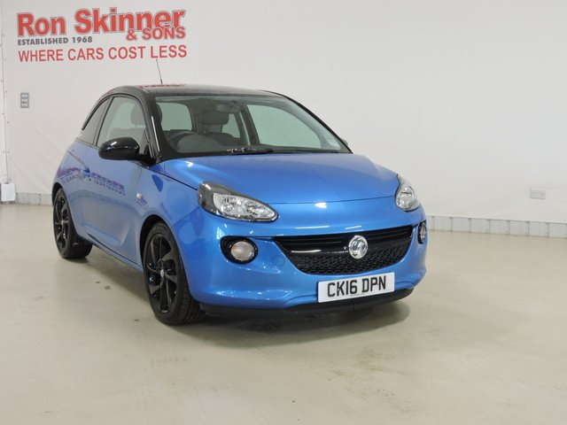 View our 2016 16 VAUXHALL ADAM 1.2 ENERGISED 3d 69 BHP
