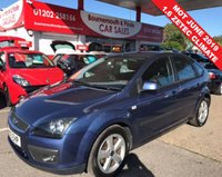 USED 2005 05 FORD FOCUS 1.6 ZETEC CLIMATE 5d 100 BHP