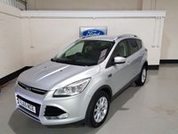 USED 2015 65 FORD KUGA 2.0 TITANIUM TDCI 5d 148 BHP 1 Owner/Apperance Pack/Half leather Seats/Bluetooth