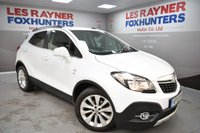 USED 2015 15 VAUXHALL MOKKA 1.6 SE S/S 5d 114 BHP DAB Radio, Bluetooth, Cruise control, Full Leather, privacy glass