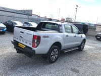 USED 2017 67 FORD RANGER Wildtrak Double Cab 4x4 3.2 TDCI Auto ( 200 bhp ) Top Spec Wildtrak Model Very Rare No VAT To Pay Immaculate Condition Best Colour