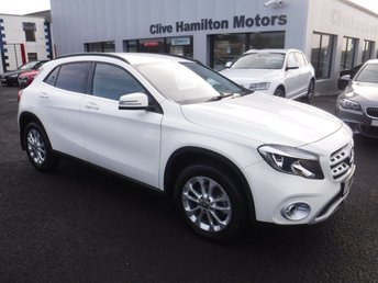 2017 MERCEDES-BENZ GLA-CLASS 2.1 GLA 200 D SE 5d 134 BHP LEATHER & CAMERA £19995.00